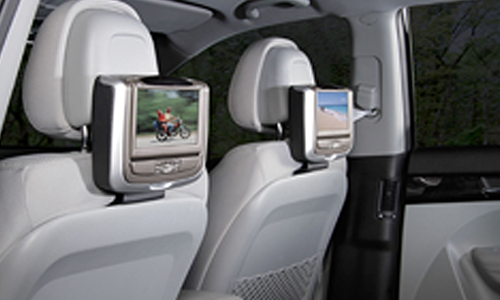 Headrest Video Screens