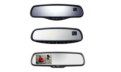 Rear view mirrors